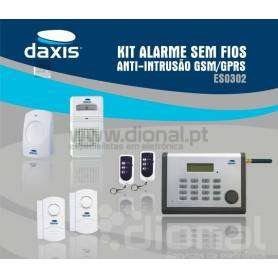 Kit alarme GSM anti-intrusão Daxis