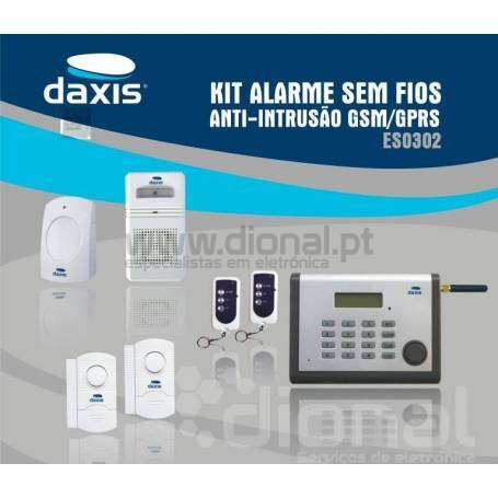 Kit alarme GSM anti-intrusão Daxis