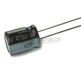 Condensador Electrolítico 470uf 10V