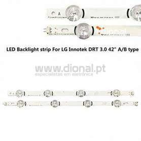 BARRA TV LG 42, LG Innotek DRT 3.0 42_A, LG Innotek DRT 3.0 42_B, 6916L-1710A, 6916L-1709A