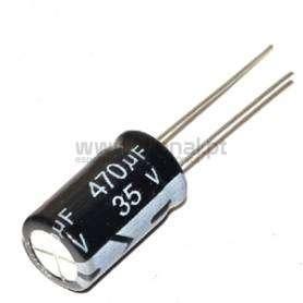 Condensador Electrolítico 470uf 35V