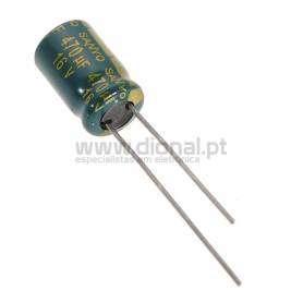 Condensador Electrolítico 470uf 16V