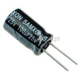 Condensador Electrolítico 100uf 25V