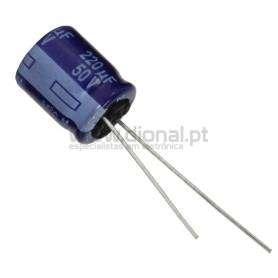 Condensador Electrolítico 220uf 50V