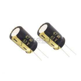 Condensador Electrolítico 47uf 63V