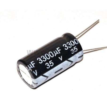 Condensador Electrolítico 3300uf 35V