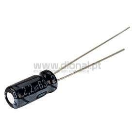Condensador Electrolítico 2.2uf 63V