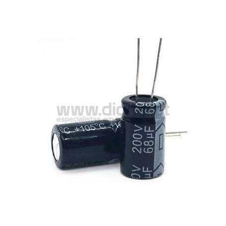 Condensador Electrolítico 68uf 200V