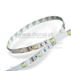 FITA LED 4,8W/M 6000K SMD5050 30LEDS/M 12V IP20