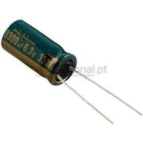Condensador Electrolítico 3300uf 6.3V