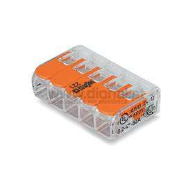 Ligador Rápido Para 5 Cabos De 0.2 A 4mm 450V 32A
