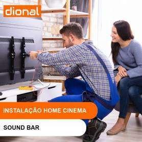 INSTALAÇÃO DE KIT HOME CINEMA / SOUND BAR