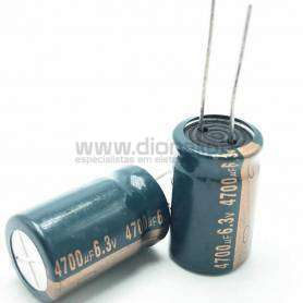 Condensador Electrolítico 4700uf 6.3V