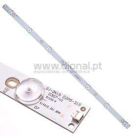 BARRA DE LED TV PHILIPS GJ-2K15 D2P5-315 D307-V1.1, LBM320P0701-FC-2